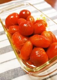 フルーツ感覚!トマトの塩砂糖漬け