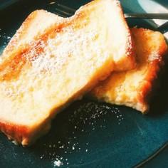 時々食べたい、我が家のフレンチトースト。
