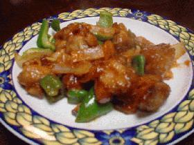 特売鶏肉の華麗なる変身「酢鶏」