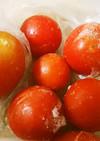 便利☆ミニトマトの冷凍保存