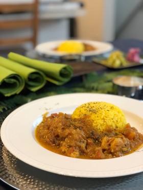簡単・本格スパイス インド式チキンカレー