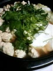 鶏の梅鍋の写真