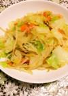 ほんのりとした甘みが美味しい簡単野菜炒め