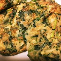 トロトロ野菜のお好み焼き風