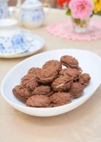 初心者向け*チョコの絞り出しクッキー