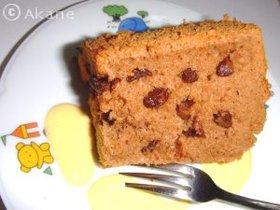 チョコちょこシフォンケーキ