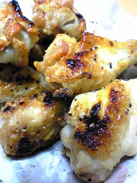 鶏手羽元のグリル焼き