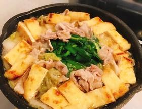 2人分☆白菜と豚バラの簡単鍋