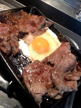 ☆牛ヒレ肉の目玉鉄板焼き☆