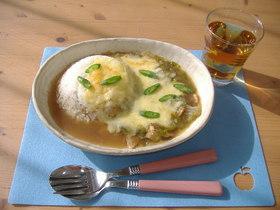 玉ねぎのスープドリア