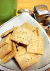 赤ちゃんオヤツ・ごまと豆乳の米粉クッキー