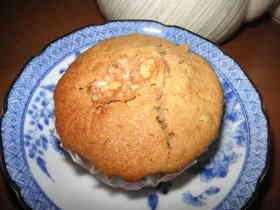 クルミとシナモンの紅茶マフィン
