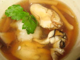 熱々ぷりぷり!牡蛎の酢ープ