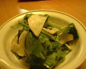 カブのサラダ