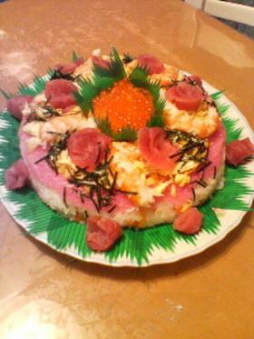 お寿司DEケーキ