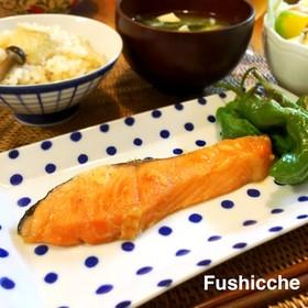 健康美人♡鮭のメープル漬け