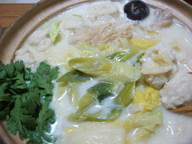 ❀ラーメン入れて❀みんなで豆乳鍋❀