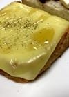 簡単ハニーチーズトースト