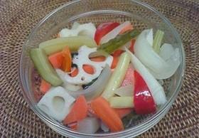 野菜不足解消♪ピクルス