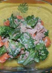 四角豆のサラダ