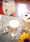 カクテル風3色のコーヒーゼリー