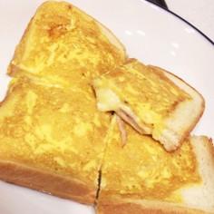 食パン1枚でホットサンド