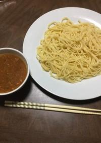 丸美屋麻婆豆腐の素つけ麺パスタ 大人気!