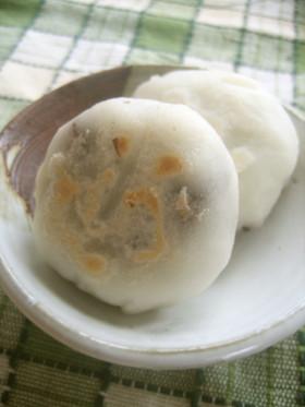恵比須講に 米粉でもちもち南信州のおやき
