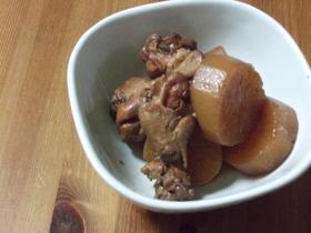 黒酢でさっぱり大根と鶏肉の煮物