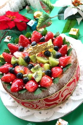 クリスマスのフルーツティラミス♡ケーキ!