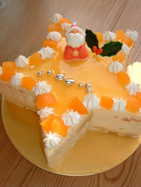 聖夜のお星さま☆ケーキ