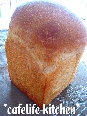 ヘルシー☆全粒粉の食パン