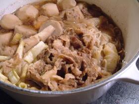 牛肉とさといもの煮物(スキヤキ風)