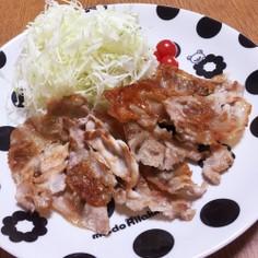 簡単♪豚肉のカリカリ焼き