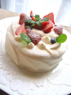スプーンとナイフで☆デコレーションケーキ