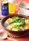鮭と白菜のピリ辛中華風鍋