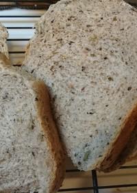 砂糖不使用 フワフワ全粒粉とゴマのパン