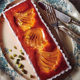洋梨のシトラスケーキ