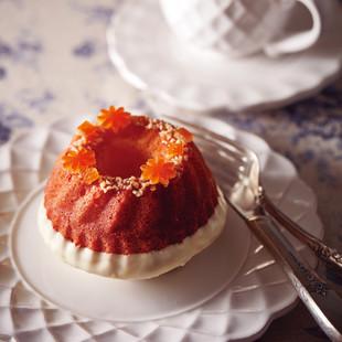 オレンジ・グランマルニエのケーキ
