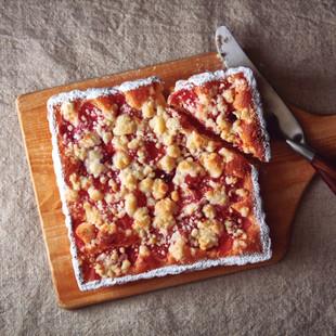 クランベリーアップルのシュトロイゼルケーキ