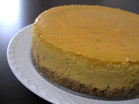 スパイシーパンプキンチーズケーキ