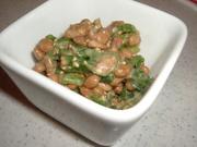 エコ葱タレde納豆♬♫の写真