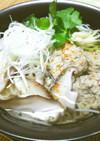 ダシの旨味♥️ふんわり鰯のつみれにゅう麺
