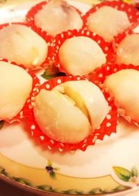 桃のマリーム大福