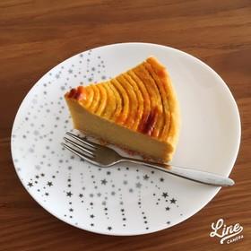 セサミボトムで塩スイートポテトケーキ♡