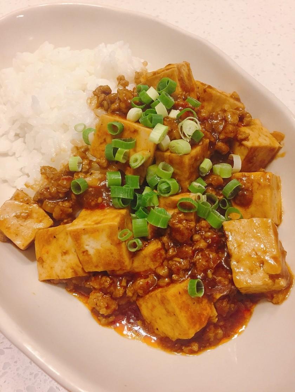 麻婆豆腐  辛さの決め手は豆板醤&黒胡椒
