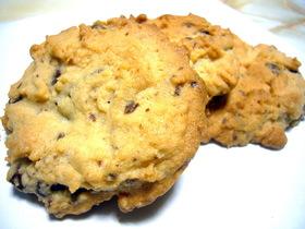 ピーナツバターとチョコのクッキー