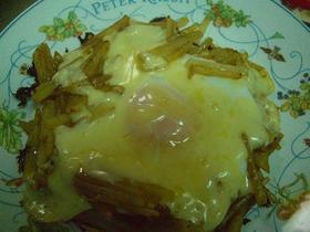 ジャガイモのカレーチーズ焼き