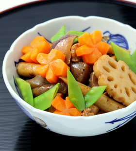 お正月のお節に、常備菜に☆筑前煮