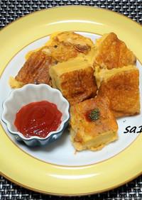 高野豆腐を洋風アレンジ!チーズピカタ風!